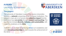 AURORA - University of Aberdeen image #2