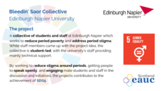 Bleedin' Saor Collective - Edinburgh Napier University image #2