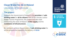 Clean Water for All in Malawi - University of Strathclyde image #2