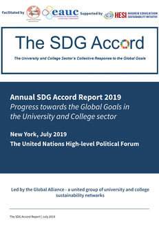 SDG Accord Report 2019: Progress towards the Global Goals in the HE and FE Sector image #1