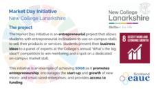 Market Day Initiative - New College Lanarkshire image #2