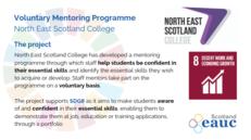 Volunteer Mentoring Programme - North East Scotland College image #2