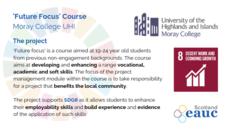 Future Focus Course - Moray College UHI  image #2