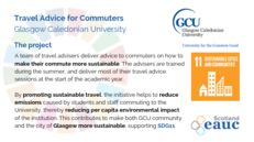Travel Advice for Commuters - Glasgow Caledonian University image #2