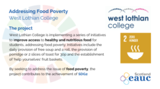 Addressing Food Poverty - West Lothian College image #2