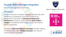 Towards Better Refugee Integration - Queen Margaret University image #2