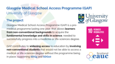 Glasgow Medical School Access Programme (GAP) - University of Glasgow image #2