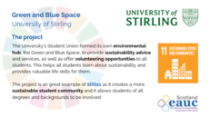 Green and Blue Space - University of Stirling image #2