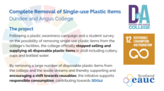 Complete Removal of Single-use Plastics - Dundee and Angus College image #2