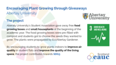 Encouraging Plant Growing - Abertay University image #2