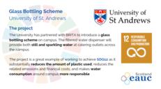 Glass Bottling Scheme - University of St Andrews image #2