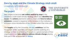 Zero by 2040 and the Climate Strategy 2016-2026 - University of Edinburgh image #2