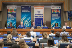De Montfort University leading a conference on the JoinTogether campaign at the United Nations HQ image #1