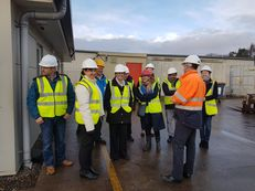 Waste Treatment site visit group
