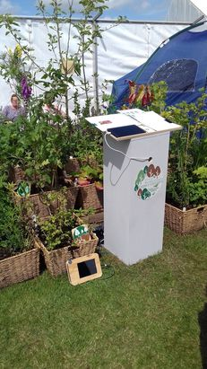 Exhibit at Scotland's Garden Festival June 2017