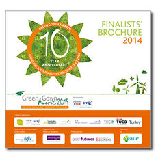 Green Gown Awards 2014 Winners' Brochure image #1