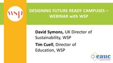 Designing Future Ready Campuses - Webinar image #1