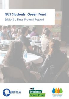 Bristol University Student Union - Get Green Project Report image #1