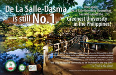 2021 Sustainability Institution of the Year - De La Salle University-Dasmariñas - Philippines image #3