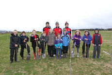 Tree planting at SRUC, Elmwood Golf Course image #2