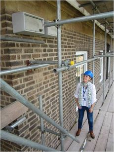 University of Leicester Swift and Peregrine Nest Box Project image #1