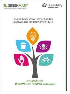Queen Mary University of London Sustainability Report 2014/15 image #1