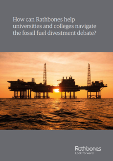 Rathbones Case Study - The fossil fuel divestment debate image #1