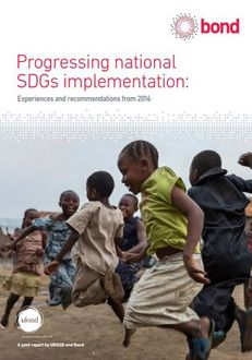 UKSSD report on national level implementation of the SDGs image #1