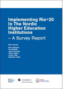 Implementing Rio+20 in The Nordic HEIs – A Survey Report image #1