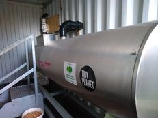 Dundee & Angus College Rocket Composter