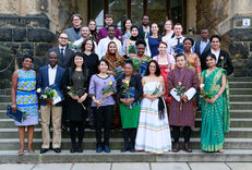 "Participants of the 65th UNEP/UNESCO/BMUB International Short Course on ""Ecosystem Management – Biodiversity and Restoration Ecology"" and CIPSEM staff members at the closing ceremony."