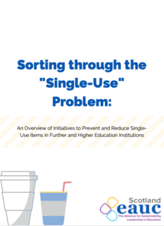 Sorting through the Single-Use Problem