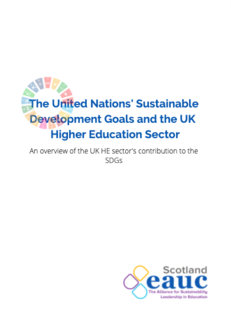 SDGs and the UK Higher Education Sector  image #1