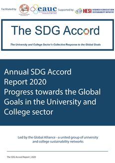 SDG Accord Report 2020: Progress towards the Global Goals in the HE and FE Sector image #1