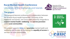 Rural Mental Health Conference - Universty of the Highlands and Islands image #2