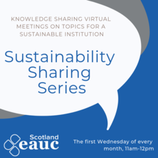 Sustainability Sharing Series: Engaging Students at Green Week and Beyond image #1