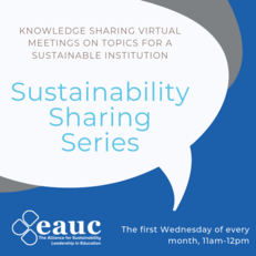 Sustainable Sharing Series: Sustainable Events and Conferences image #1