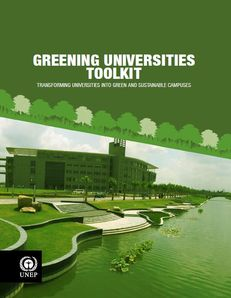 UNEP Greening Universities Toolkit image #1